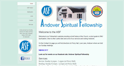 Preview of andoversf.org.uk